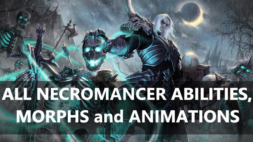 All Necromancer Abilities, Passives and Morphs! - Learn ESO
