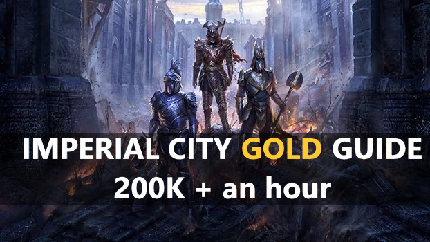 Imperial City 200K + & 60K+ an HOUR! - Learn ESO